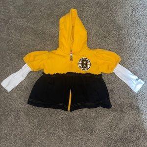 Reebok NHL Boston Bruins Zip Up Hoodie